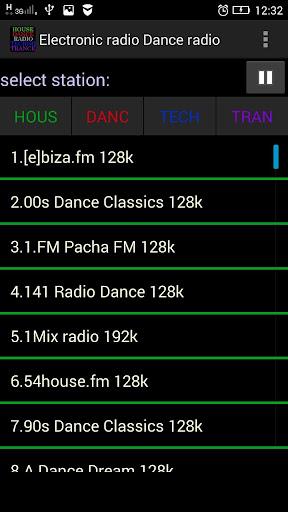 电子无线电收音机舞
