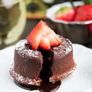 Bailey Molten Chocolate Lava Cakes for 2