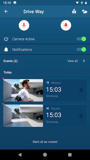 bosch smart camera screenshot 2