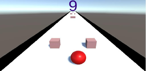 Roll The Ball To Avoid The Obstacles