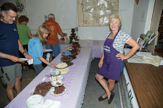 Photo: Chocolate Extravaganza, and Chef Terry