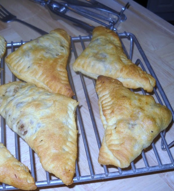 You will have 8 good sized triangles.  Grate some black pepper on the...
