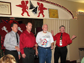 Photo: Revised Arrangement (Tom, Gary, Bob, Don)