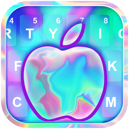 OS X Laser Keyboard Icon