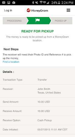 MoneyGram 2.0.6 screenshot 299967