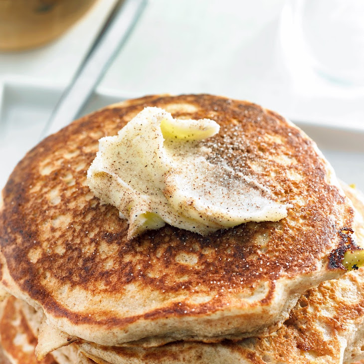 Apple Whole Wheat Pancakes