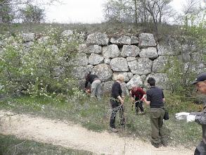 Photo: Inizio lavori su un secondo tratto di mura poligonali ad Alba Fucens