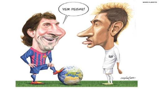 Messi Cartoon Wallpapers