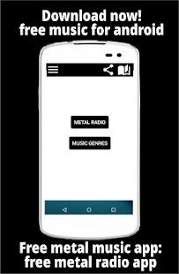 Free metal music app: free metal radio app 1