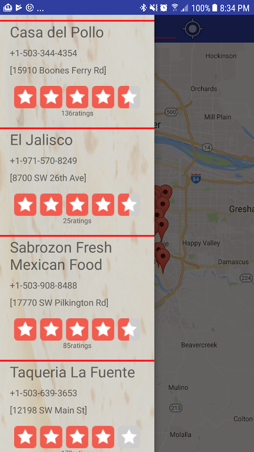 My Burrito Finder- screenshot