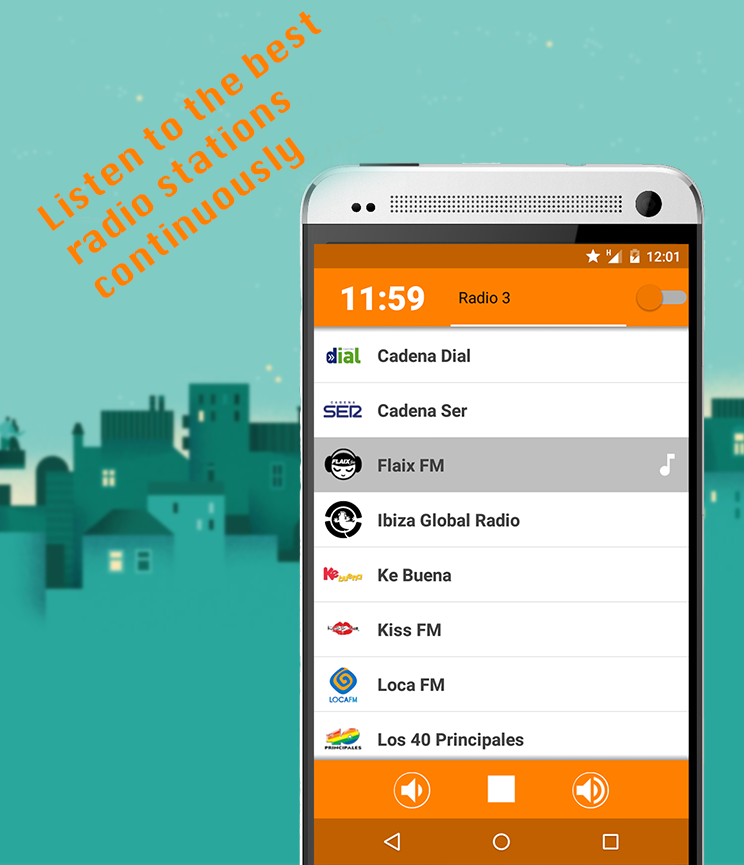 Alarm Radio- screenshot