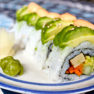 Vegan Dragon Roll