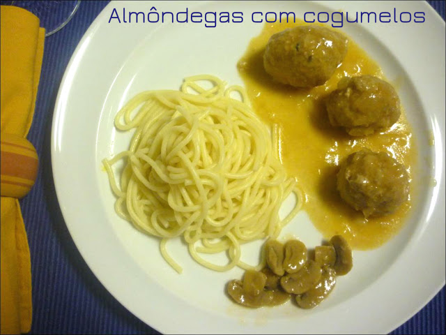 Meatballs with Mushrooms Recipe