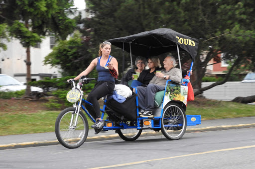 victoria-pedicab.jpg - Take a pedicab for a relaxing way to see Victoria, British Columbia.