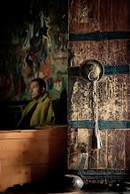 Photo: Puja at Thikse Monastary, Ladakh, Inidan Himalayas
