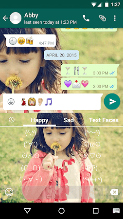 Cute Photo Emoji Keyboard Free 3.0.1 screenshot 315747