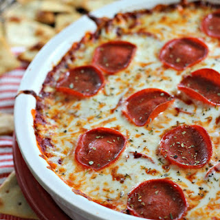Pepperoni Pizza Dip.