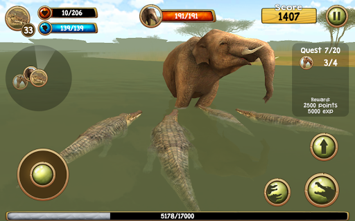 Wild Crocodile Simulator 3D apkpoly screenshots 16