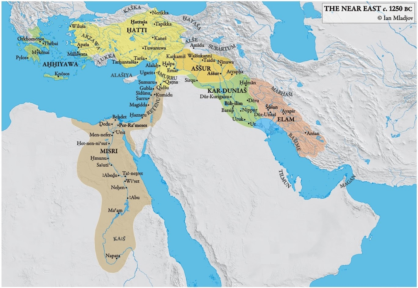 the impact of geography on the development of ancient civilizations of the near east