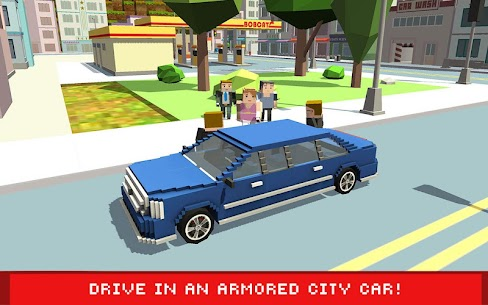 Blocky Security: Hollywood Driver 1.4 Latest MOD Updated 3