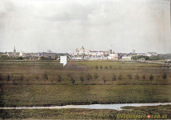 1915-1916, Вид з Гнідави