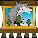 Ivan Tsarevich & the Grey Wolf icon