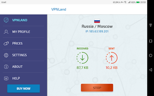VPNLand VPN - Best Premium VPN Service for Android