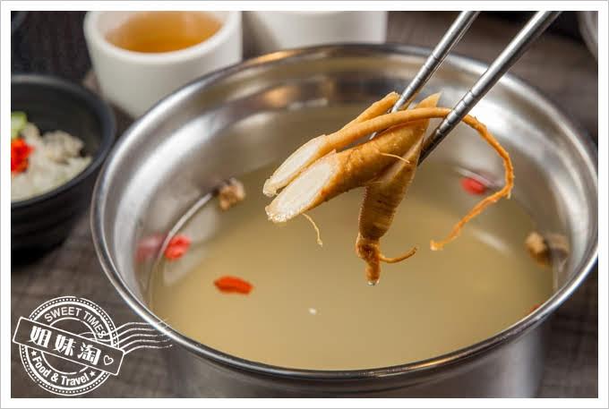 陶林日式涮涮鍋鳳山店長白山鮮人蔘鍋