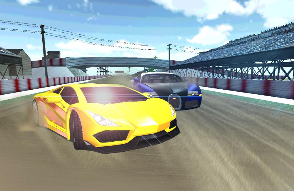 racing game- screenshot