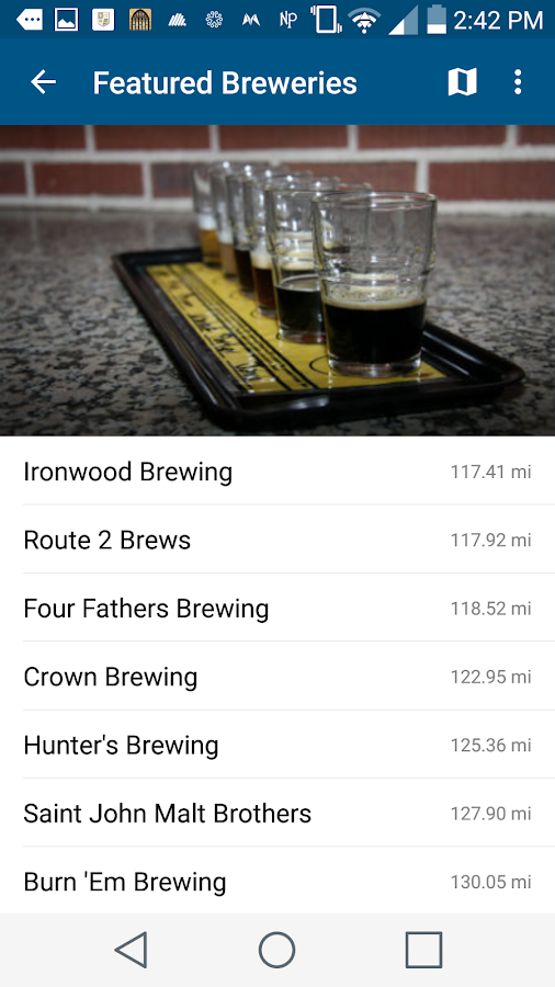 South Shore Brewery Trail- screenshot