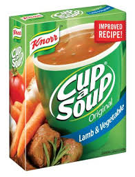 Knorr Cup-a-Soup.