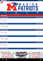 Marion Patriots Athletics APK screenshot thumbnail 11