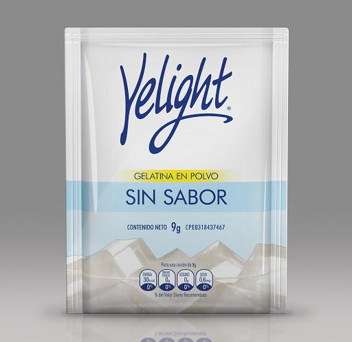 gelatina yelight sin sabor 9gr
