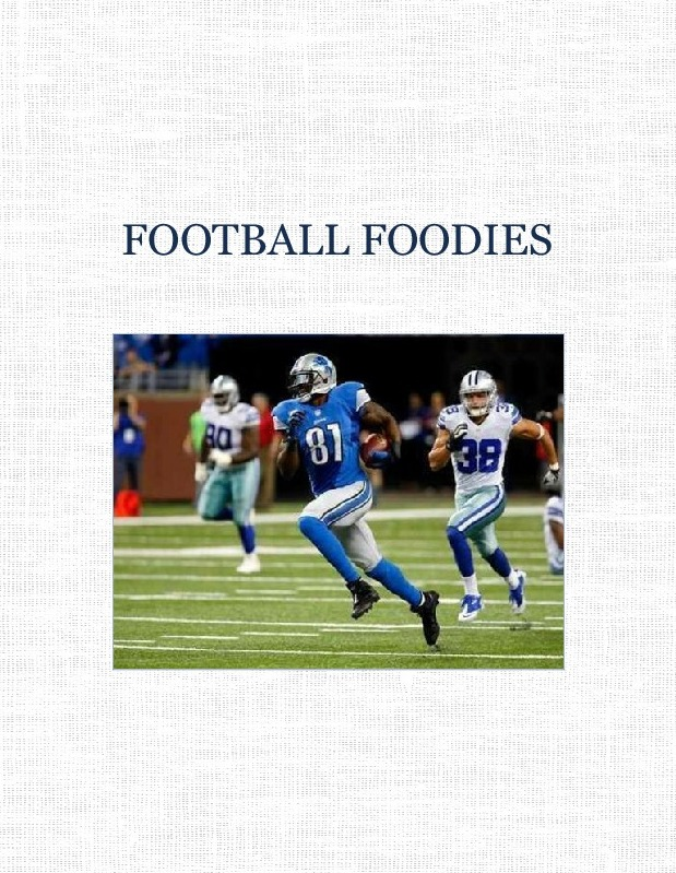 FOOTBALL FOODIES