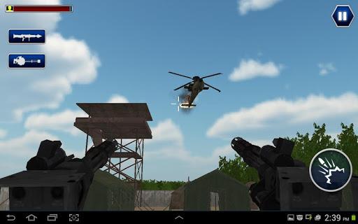 武装直升机战斗