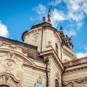 .. by Lubomir Gobs - City,  Street & Park  Street Scenes ( sky, d90, 35mm, theatre, east, nikon, slovakia, kosice )