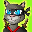Awesome Ninja Cat icon