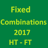 Fixed Combinations 2017 HT FT