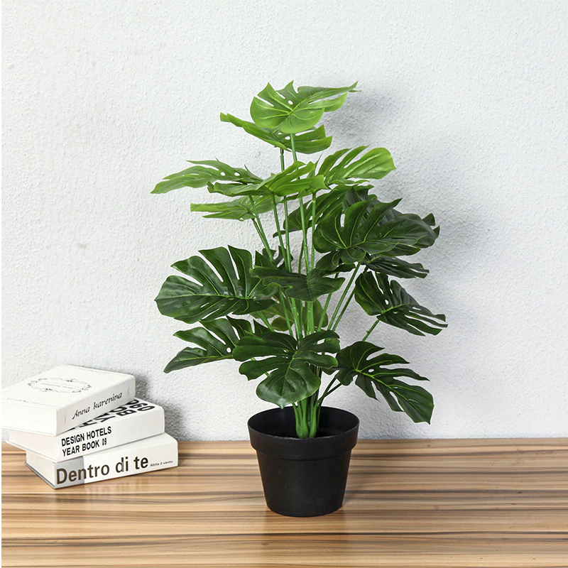 How To Use Artificial Monstera Tree Plants For Home Decoration?