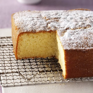 Vanilla Butter Cake.