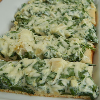 Spinach And Artichoke Pizza Fingers
