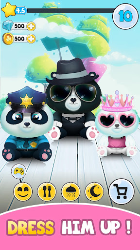 Pu - Cute giant panda bear, baby pet care game for PC