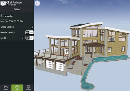 3D Viewer by Chief Architect ss1