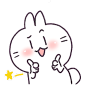 WAStickerApps Bunny Sticker (Eng / Chinese)