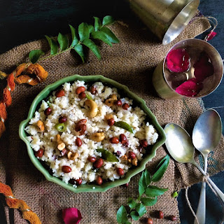 Vegan Barnyard Millet Savory porridge / Samo Upma- Navratri Fasting.