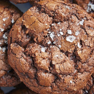 Salted Chocolate Rye Cookies.