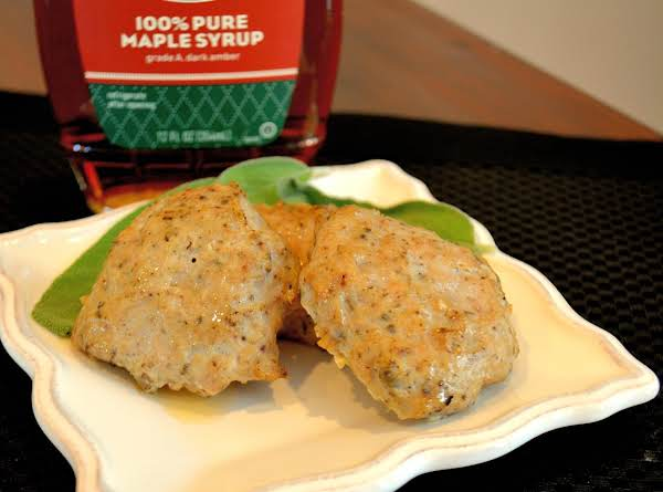 Healthy Chicken Maple Sage Sausage Recipe