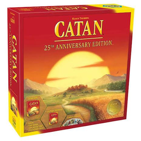 Catan 25th Anniversary Edition (begränsad utgåva)