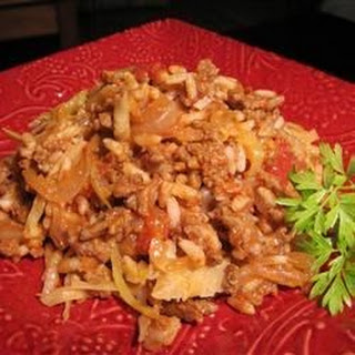 Cabbage Roll Casserole Ground Beef Recipes
