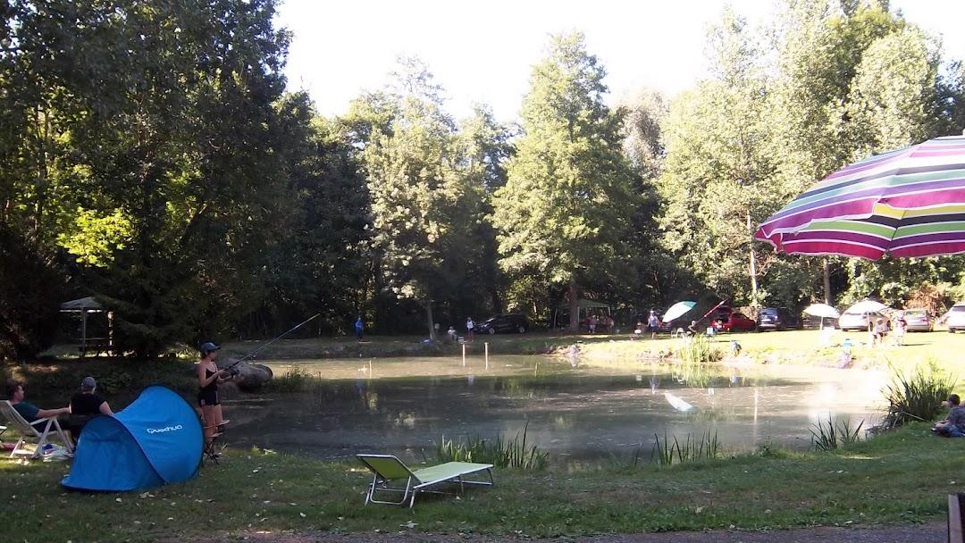 étang de pêche truite oise